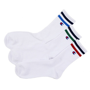 CHAMPION 3 Pairs Full-length Line Socks 2 Color (CMSCK001)