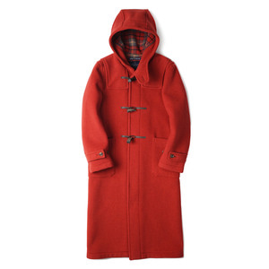 "R004 Long Duffle Coat LT01 ""Orange B 35"""