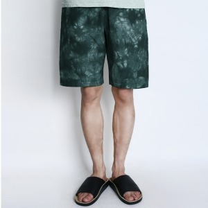 "CHAMPION Reverse Weave Dyeing Shorts C3-F507 ""Green (560)"""