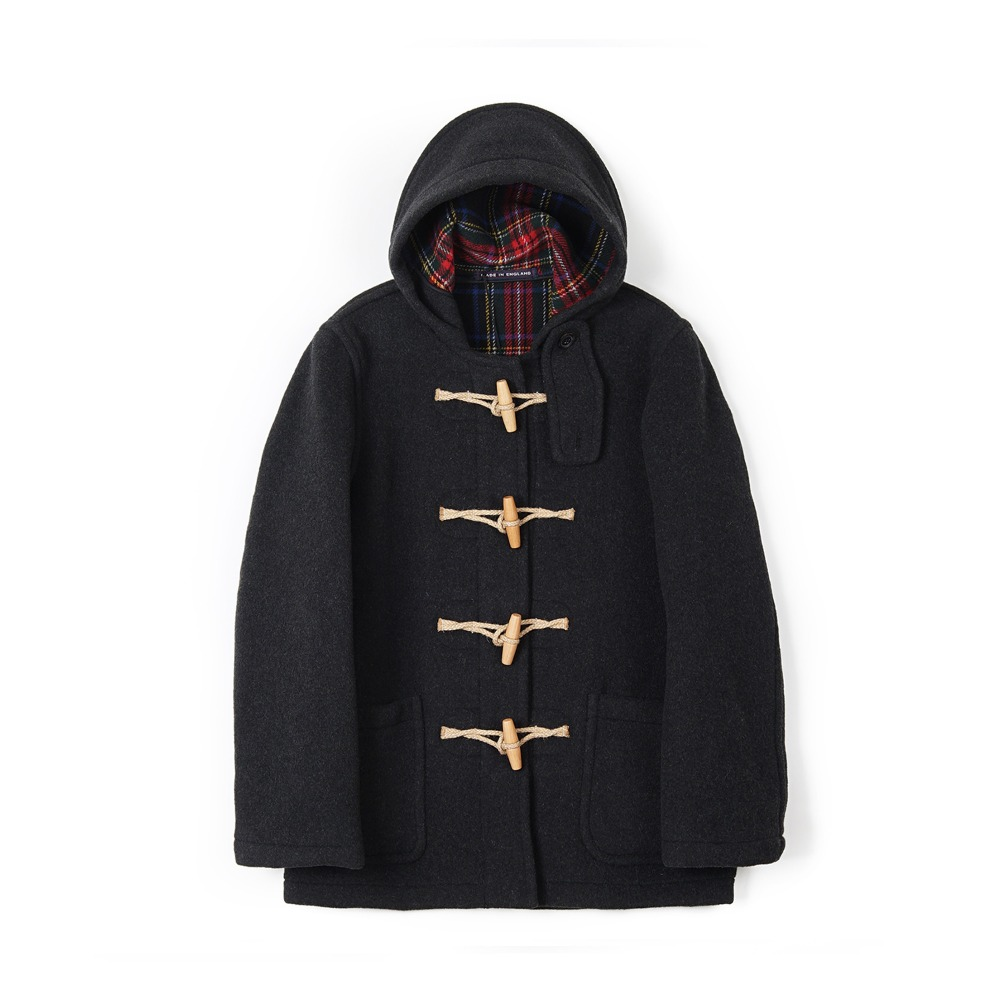 "LONDON TRADITION Martin NYNF Duffle Coat ""Dark Grey"""