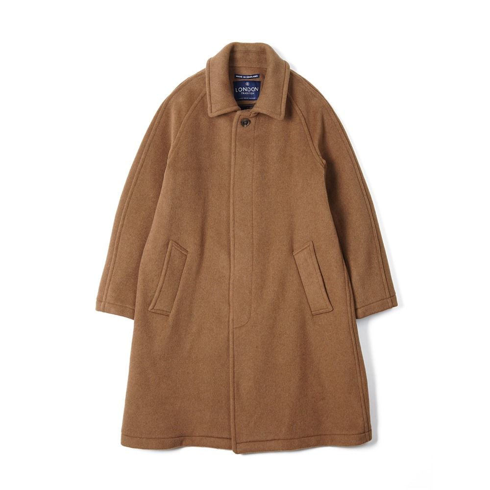 "LONDON TRADITION Mens R06 Fly Front Coat ""New Vicuna"""