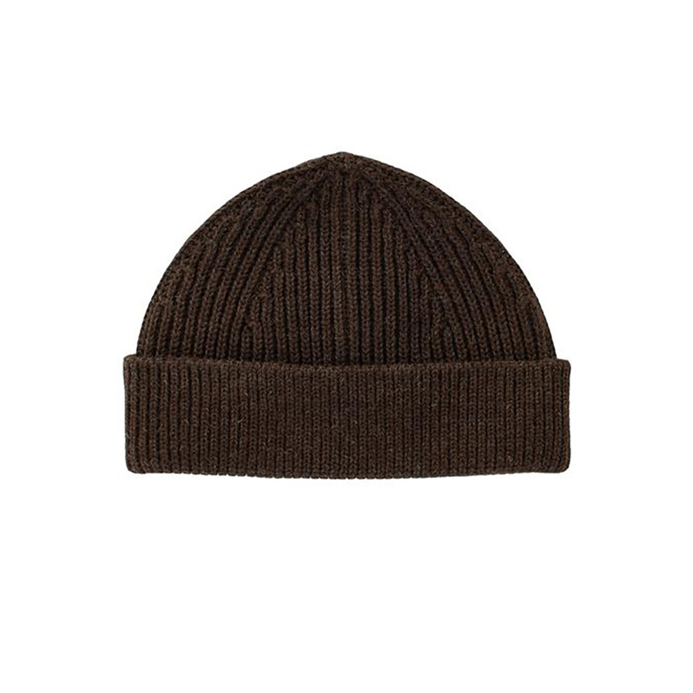 "ANDERSEN-ANDERSEN Beanie Short ""Natural Brown"""