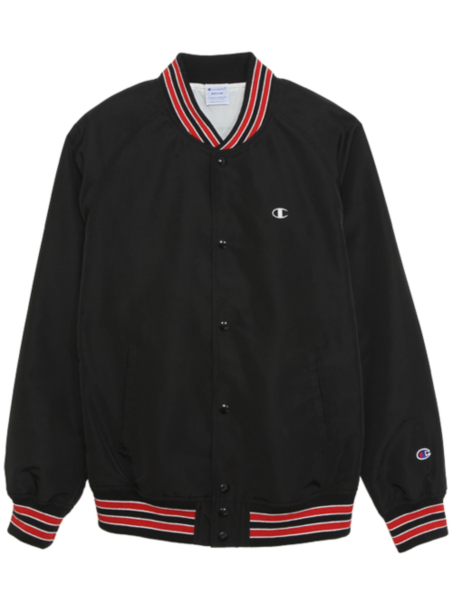 "CHAMPION Action Style Snap Jacket C3-H604 ""Black(090)"""