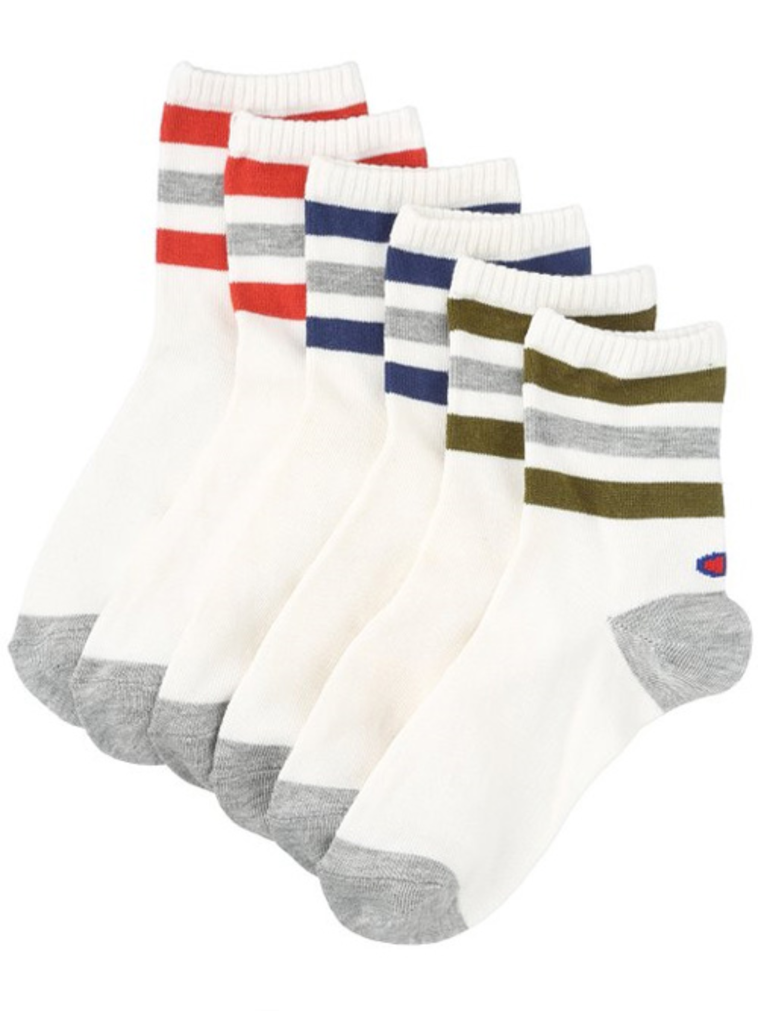 CHAMPION 3 Pack Womens Socks 3 Color CWSCG103