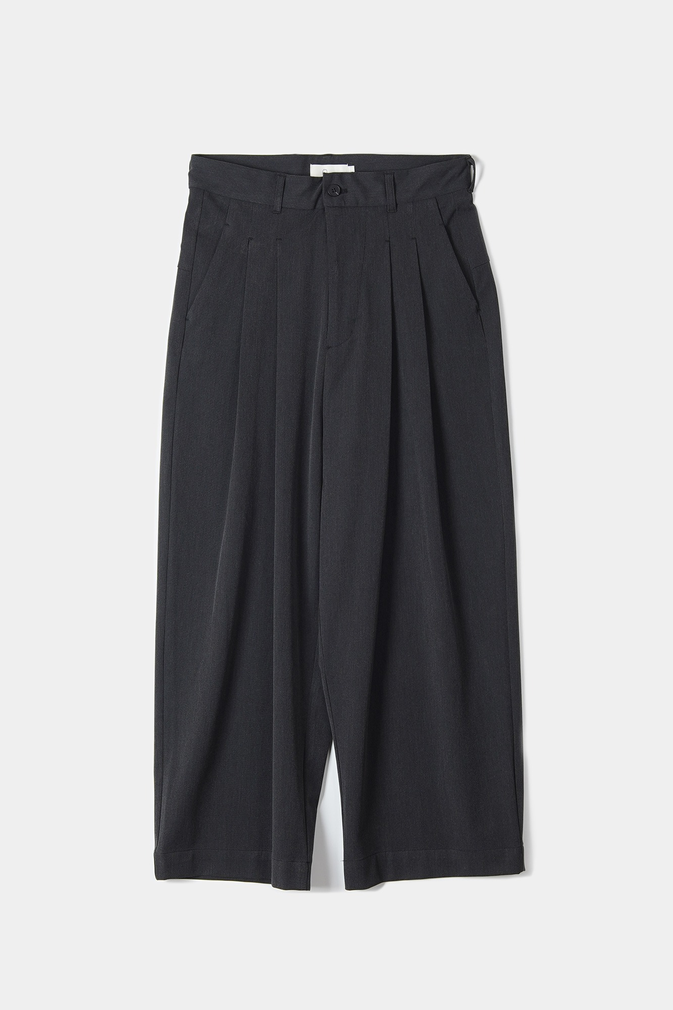 "OOPARTS Wide-leg long pants ""Dark grey"""
