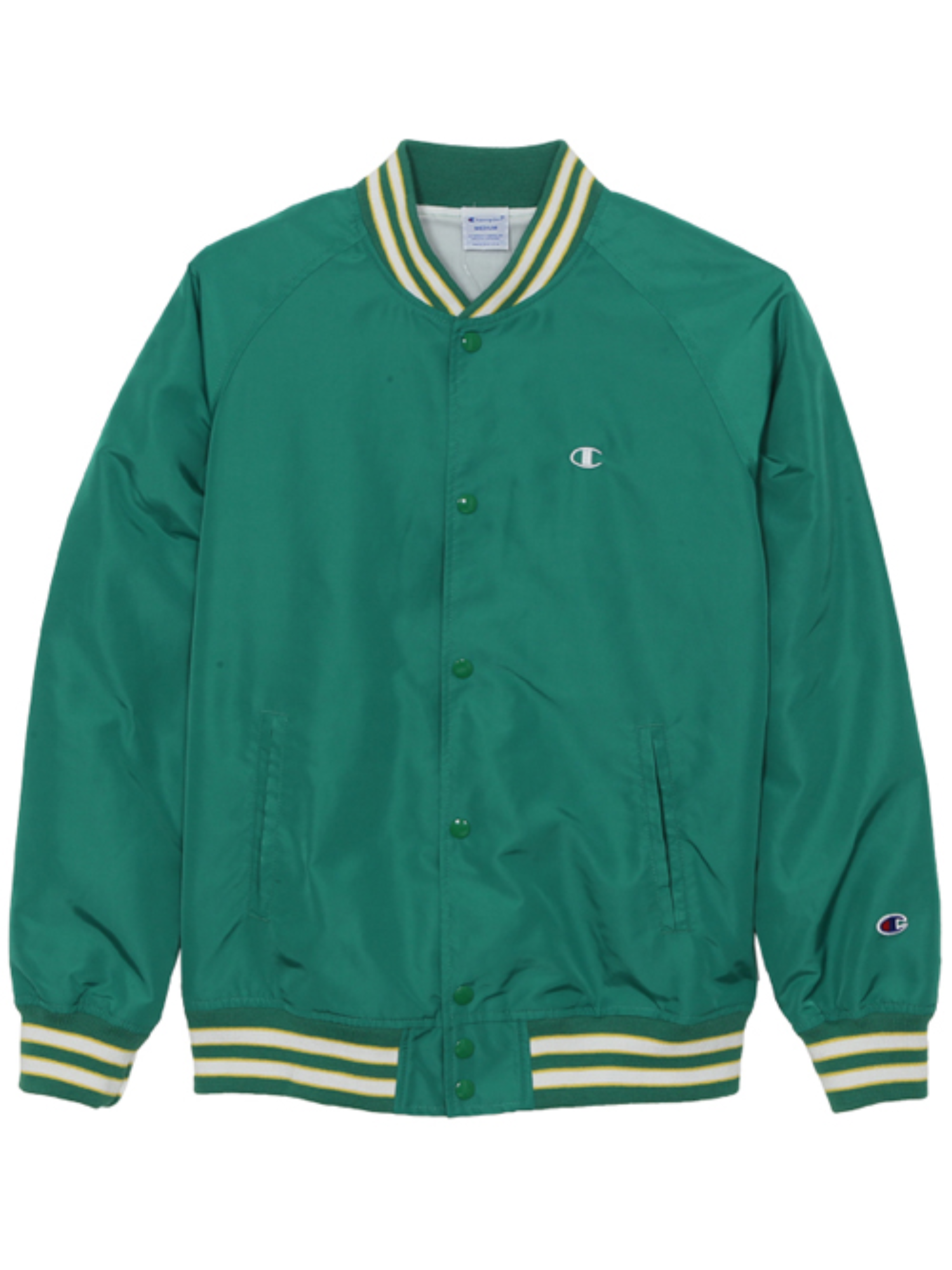 "CHAMPION Action Style Snap Jacket C3-H604 ""Green(550)"""