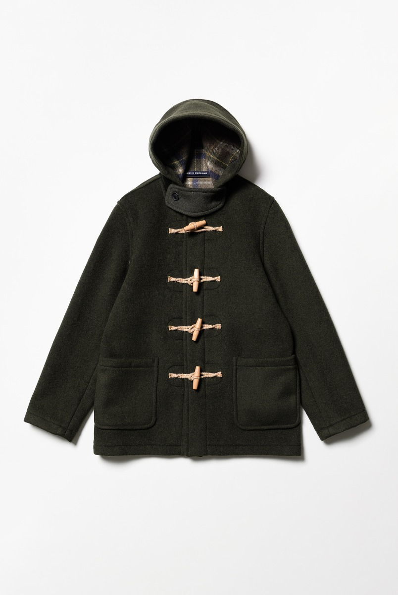 "LONDON TRADITION Martin NYNF Duffle Coat ""Seaweed"""
