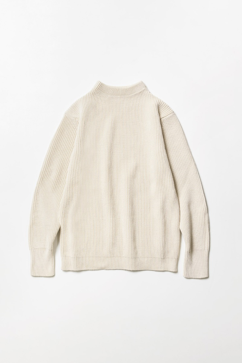 "ANDERSEN-ANDERSEN Cotton Crewneck ""Raw Cotton"""