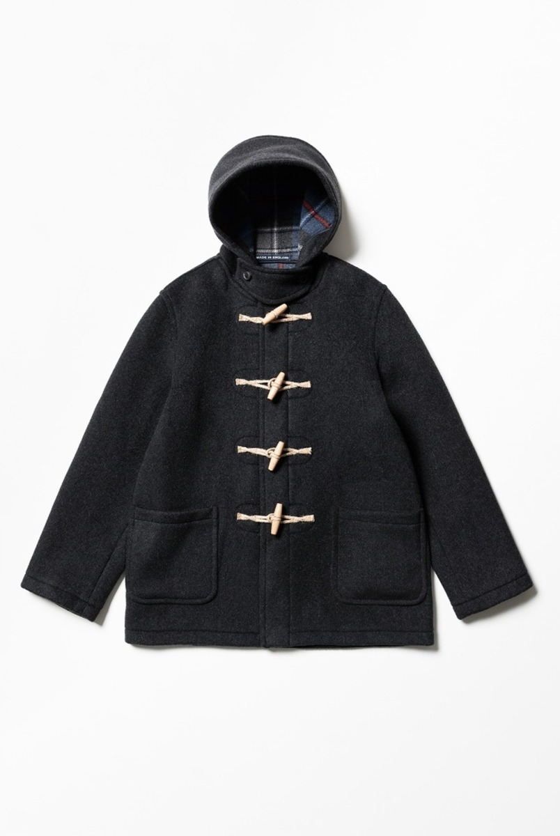 "LONDON TRADITION Martin NYNF Duffle Coat ""Charcoal Macrae"""