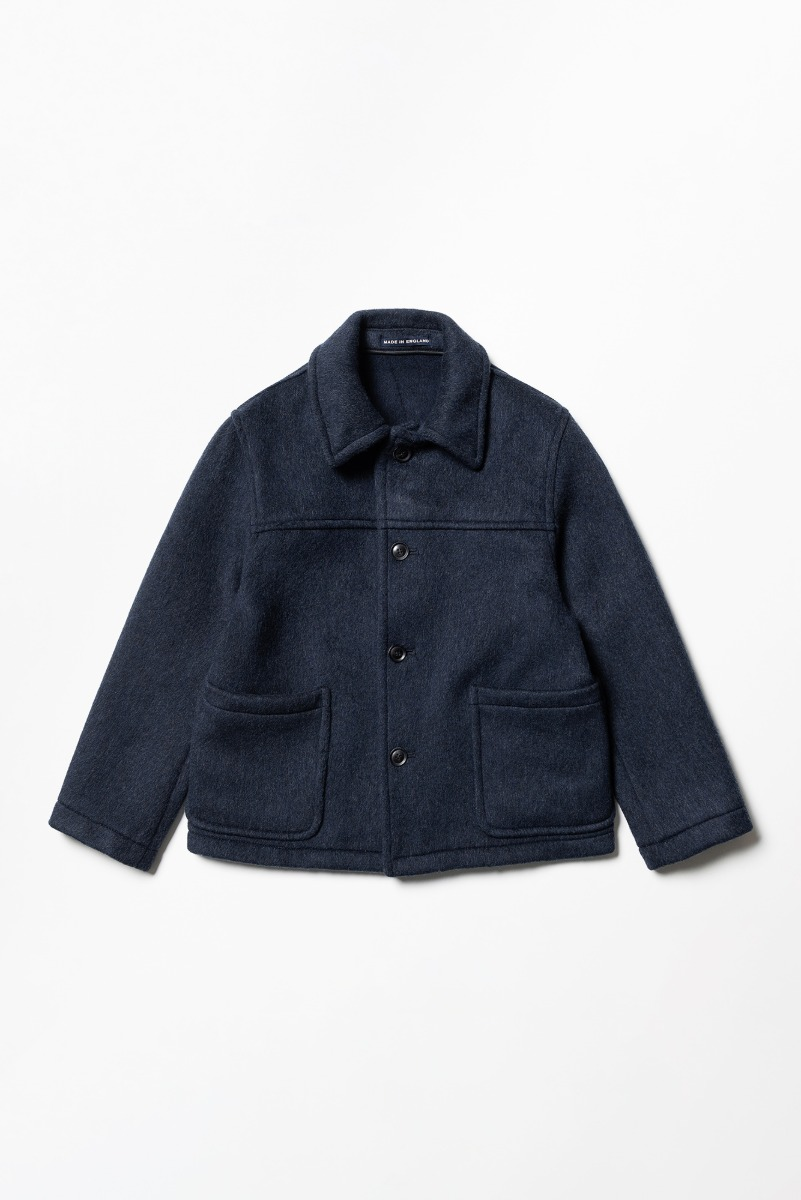 "LONDON TRADITION Jackson Mens Short Jacket ""Navy Grey Mix"""