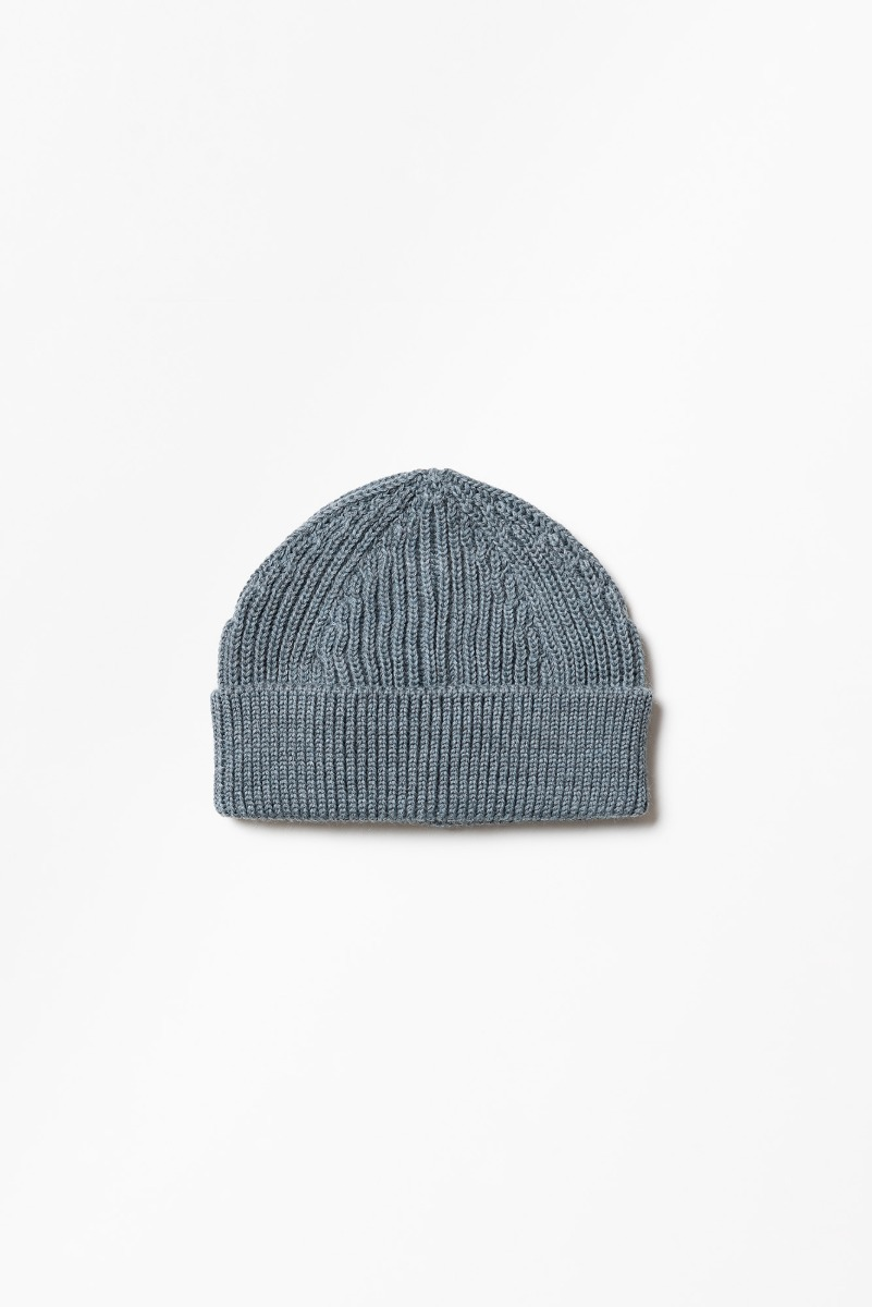 "ANDERSEN-ANDERSEN Short Beanie ""Light Indigo"""