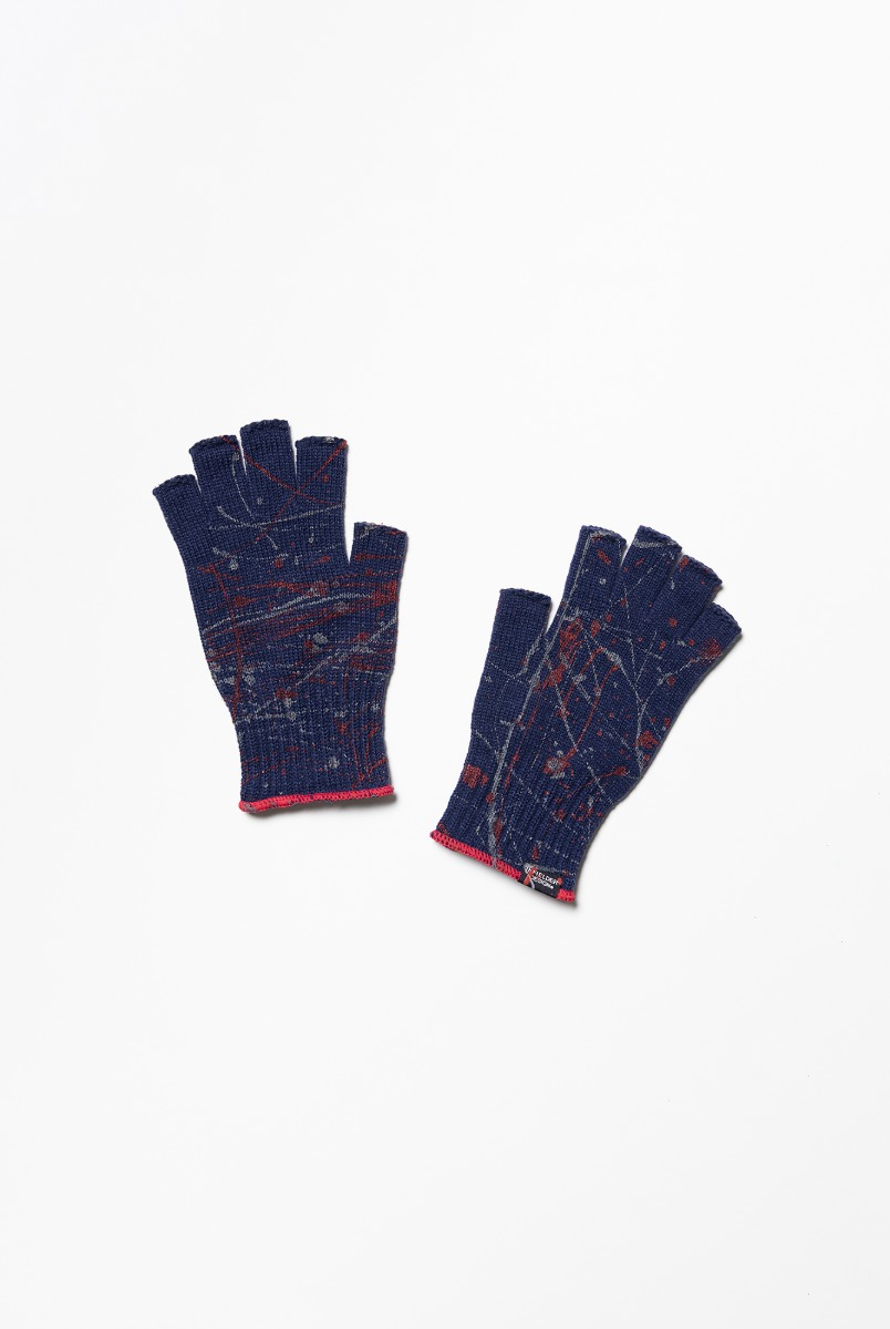 "INFIELDER DESIGN Paint Glove ""Navy"""