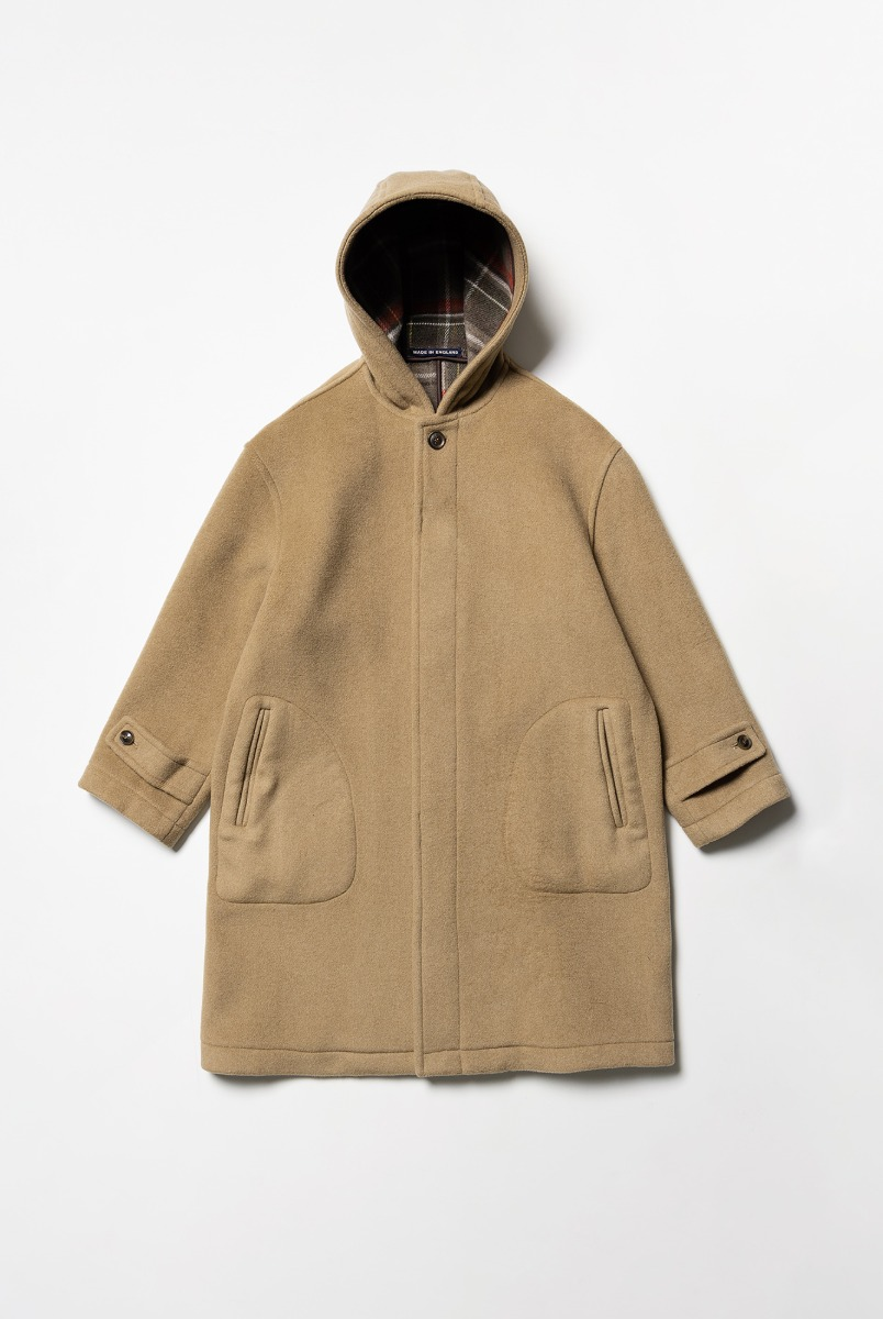 "LONDON TRADITION Seaton Mens Oversize Coat ""New Camel"""