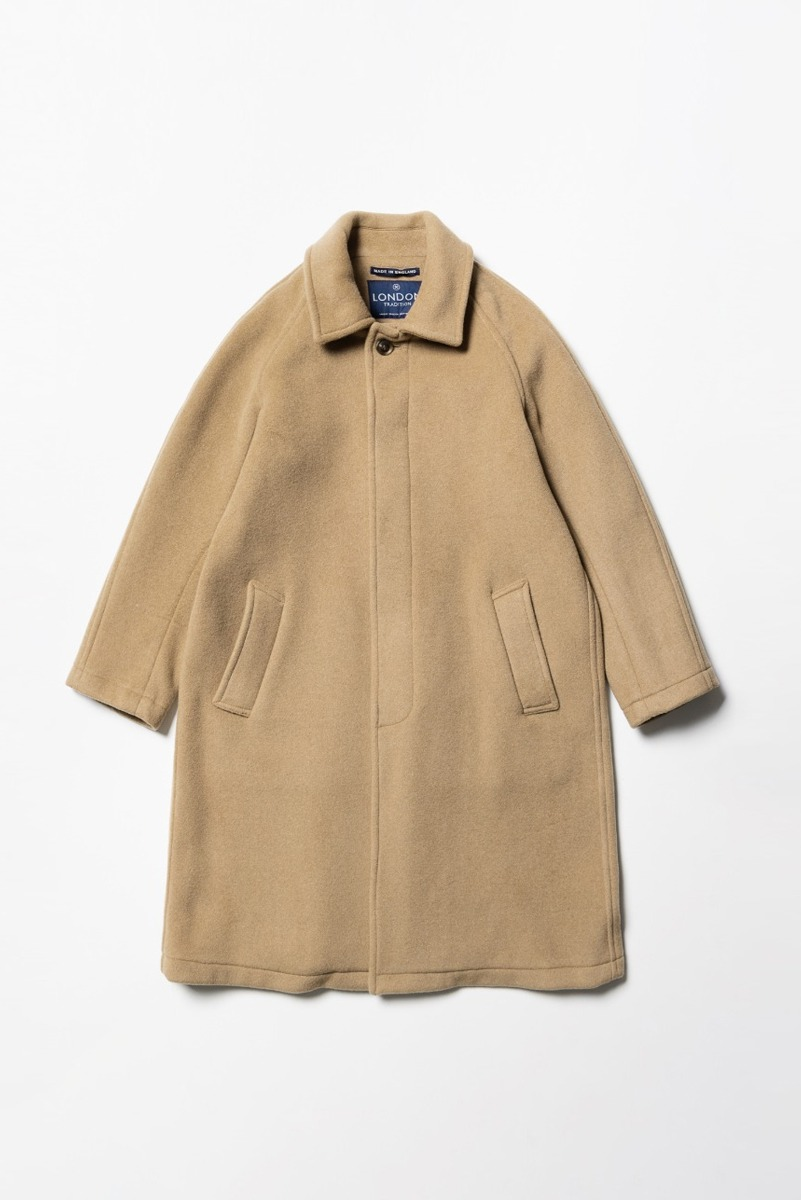 "LONDON TRADITION Mens R06 Fly Front Coat ""New Camel"""