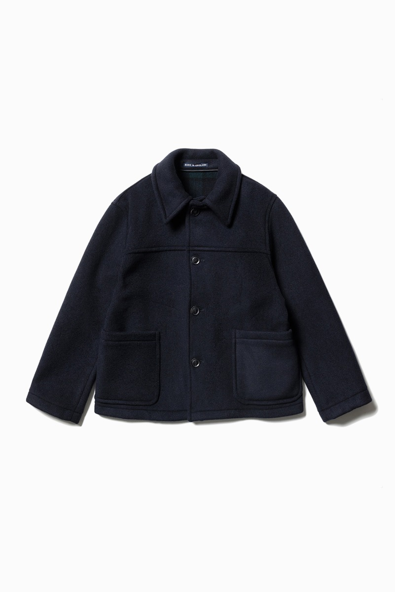 "LONDON TRADITION Jackson Mens Short Jacket ""Navy BW"""